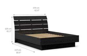 Queen Bed - BRAND NEW !! UNOPENED BOX !! - made in Denmark