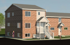 Soon-to-be-ready townhouse 1-bedroom apartments for rent!
