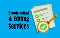 PROFESSIONAL PROOFREADING & WRITING SERVICE