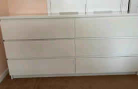 Ikea Malm chest of 6 drawers - like new!