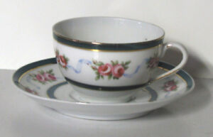 Antique Teacup & Saucer