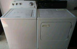 WHIRLPOOL WASHER AND KENMORE DRYER FOR SALE!