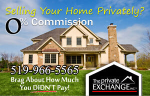 Sell your home on Private Exchange and SAVE THOUSANDS!!!