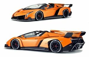 1-18-Kyosho-2014-Lamborghini-Veneno-Roadster-Arancione-Metallico