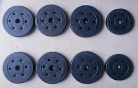 Opti Vinyl Weight Plates (17.5kg)