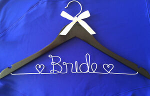 Personalized Wire Hangers, Cake Topper & Table Numbers - WEDDING Cambridge Kitchener Area image 8