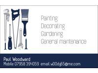 Painter Decorator Handyman Gardener