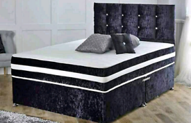 🔥 DIVAN BEDS FOR SALE 🔥 MADE IN UK WITH MATTRESS 💥 FREE DELIVERY
