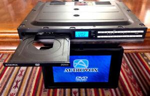 "Audiovox  Kitchen Cuisine LCD  9"" TV / DVD, AM/FM Combo"
