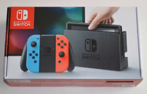 NINTENDO SWITCH NEUF / BRAND NEW NINTENDO SWITCH