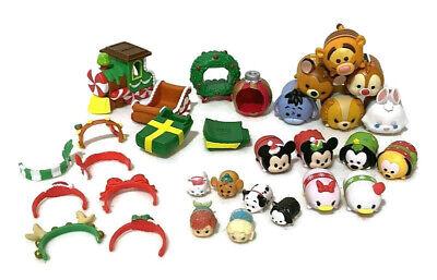 Disney Tsum Tsum Christmas Holiday Advent Calendar Figures Parts 30 Pieces PVC