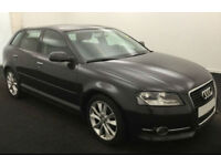 2011 AUDI A3 SPORTBACK 1.6 TDI SPORT GOOD / BAD CREDIT CAR FINANCE AVAILABLE