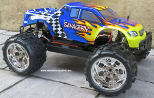 New RC Truck Brushless Electric 1/8 Scale TOP 2 LIPO 4WD RTR Kitchener / Waterloo Kitchener Area image 7