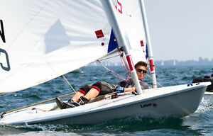 Laser Radial - competition ready with everything you need!