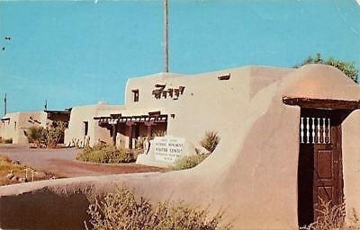 White Sands National Monument New Mexico Administration Building 1977 Postcard