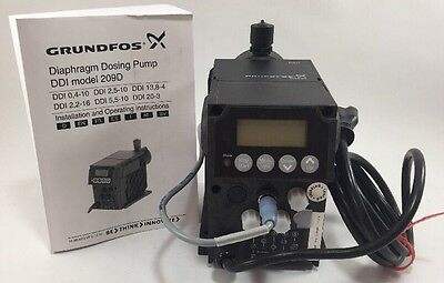 Grundfos Digital Dosing Pump 1.45 Galhr 145 Psi 60 Hz Ddi 5.5-10