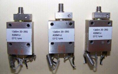 K Band Waveguide Gunn Oscillator 20ghz-26ghz Mech. Range - 200mhz Efc 13dbm.