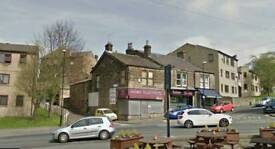 large shop yeadon with fantastic passing trade.