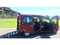 Renault Kangoo WAV - Wheelchair & Electric Scooter transport - Automatic - Low mileage - Great Spec