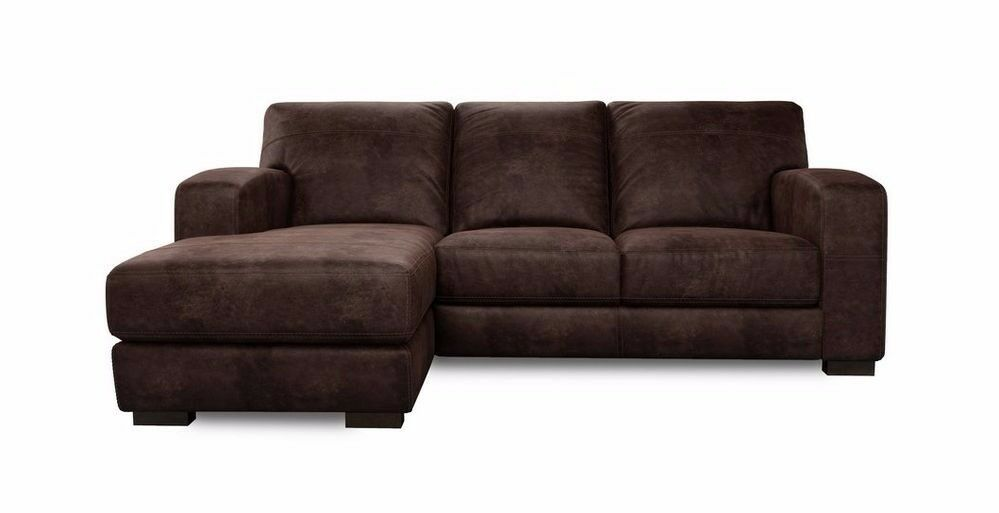 DFS Caesar 3 Seater Leather Couch/ Sofa FREE