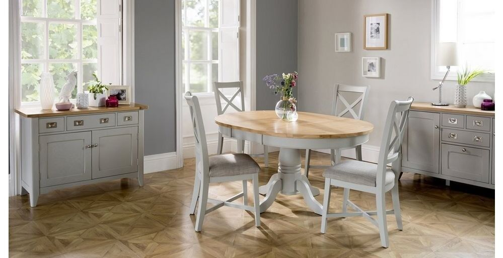 Dfs Harbour Round Extending Dining Table And Six Chairs In Hastings East Sus Gumtree