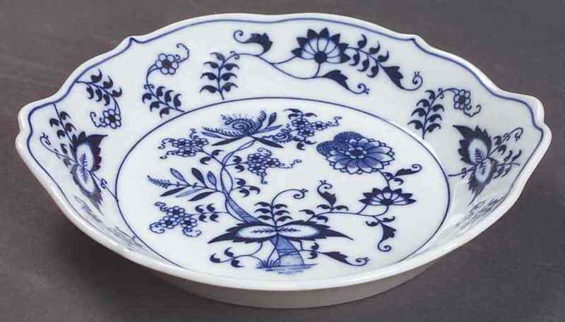 "Blue Danube (Japan) BLUE DANUBE 6 1/2"" Augratin Dish 6202126"