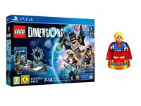 PS4 Lego Dimensions Starter Pack **EXCLUSIVE SUPERGIRL EDITION** Brand New/Sealed