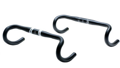 HED Grand Tour GTO Compact Alloy Handlebar 31.8mm 70/125 Road Bar 38cm C-C NEW  ()