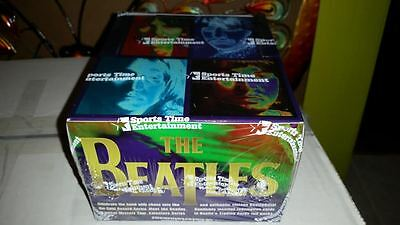 THE BEATLES LP RECORDS CARDS SEALED BOX JOHN LENNON ART INSERTS 1996 SPORTS TIME