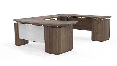 Mayline Sterling Collection Stl2 U Shaped Desk