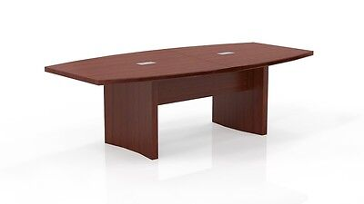 8 Ft. Mayline Aberdeen Conference Table Cherry Finished