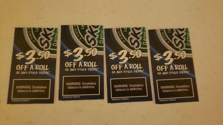 Skoal, 14 In Savings - $4.99