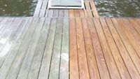 Deck Staining/Work