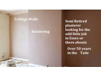 PLASTERER SEEKS WORK if you have been let down or messed about call and i will try my best to help