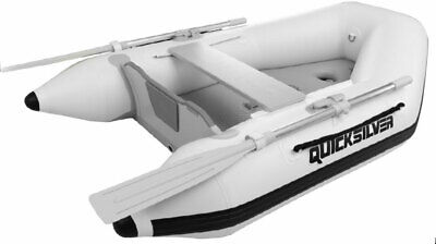 Quicksilver 200 Tendy Slatted Floor PVC Inflatable Boat 2m White Slatted Dinghy