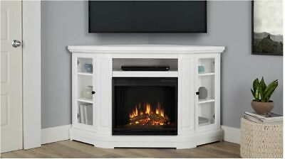 RealFlame Windom Electric Fireplace Entertainment Center Hea