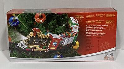 Train Set That Wraps Around Mid-Christmas Tree. NEW