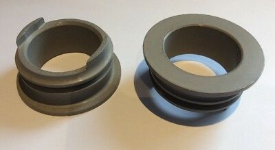 NOS DH/HS125 Hawker 125 Nose Gear Axle Spacer 25UN101 qty 2 (O)
