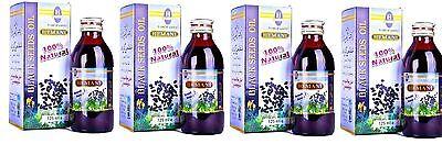 Hemani Black Seed/Nigella Sativa Oil 100% Pure Kolanji Oil 125ml (Pack of 4)