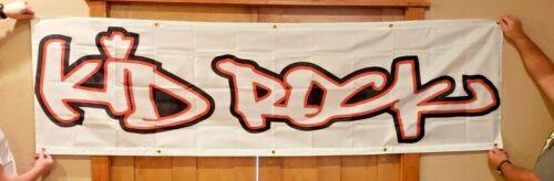 NEW Huge Kid Rock 8ft x 2ft Banner Dealer Promo Sign Advertising