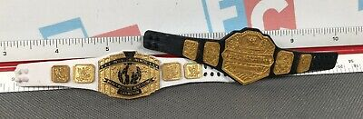 Used, WWE Wrestling Mattel US & Intercontinental Title Belt Championship Lot Set for sale  Shipping to India