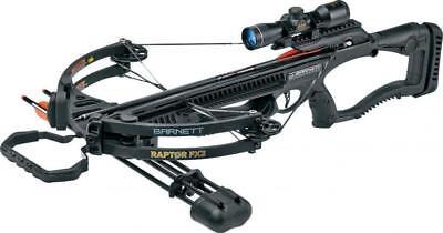 Barnett Black Raptor FX2 Deluxe Crossbow Package - 78226 (Deluxe Crossbow)