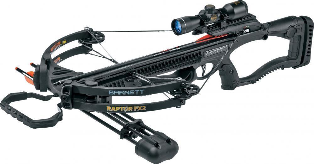 Barnett Black Raptor FX2 Deluxe Crossbow Package - 78226 780