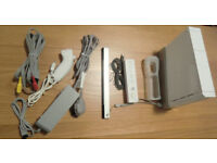 Nintendo Wii White Console + Accessories VGC.
