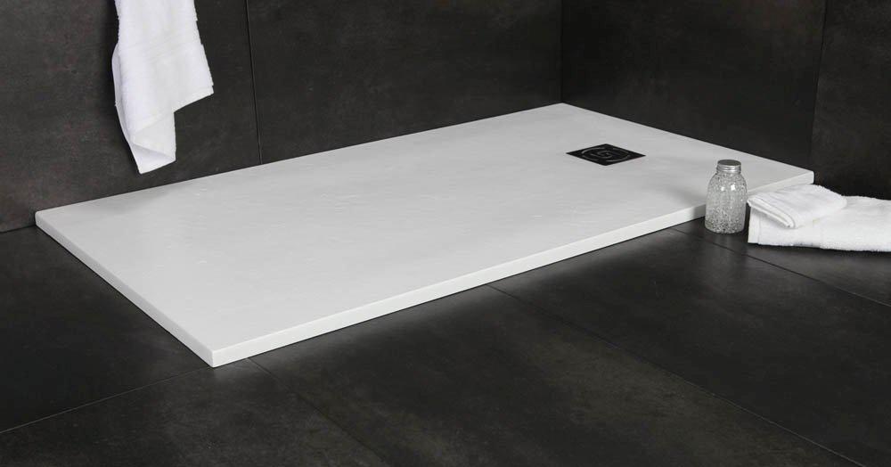 duschtasse schieferoptik duschelement flach mineralguss bodengleiche duschwanne eur 350 00. Black Bedroom Furniture Sets. Home Design Ideas