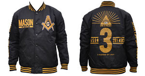 Mason Masonic Lightweight Jacket-Size 4XL-New!