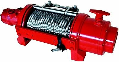 Hydraulic Winch - 12500 Or 17500 Lbs - Inc Accessories - Balance Valvetension