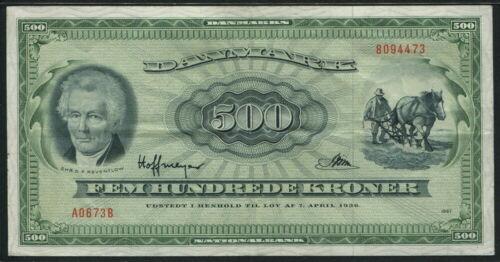 Denmark 1967, 500 Kroner, P47c, VF