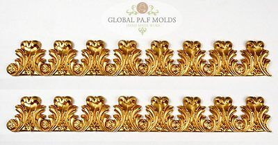Handmade Silicone Mold /1 Piece Cake Decoration Mould/ Vintage Trims Mold 870003
