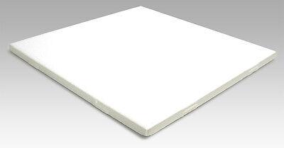 6 x 6 Blank White Ceramic Dye Sublimation Tiles Case Heat Press Transfer Finish